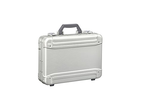 Zero Halliburton Geo Aluminum 3.0 Attaché-Small Computer Case Briefcase, Silver, One Size ()