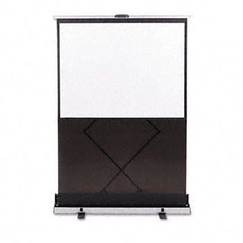 """ACCO Brands Quartet 960S Euro 60"""" Portable Cinema Projection Screen with Carrying Case"""