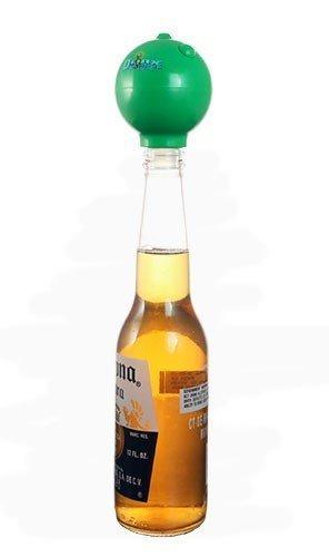 Bottle Top Salt Rimmer - Drink Topper - Green by Barproducts.com, Inc. (Image #1)