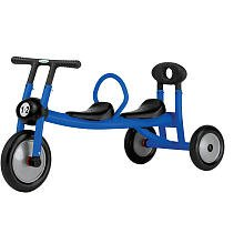 Italtrike Pilot 100 Blue Walker Tricycle with Two Seats