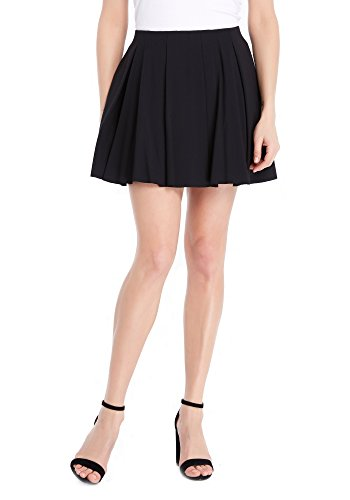 Juicy Couture BLACK LABEL Women's Ponte Knit Skirt, Pitch Black, S by Juicy Couture