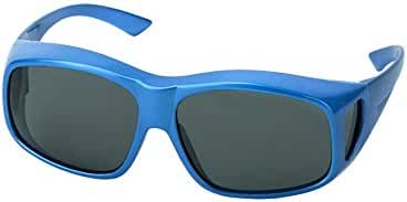 LensCovers Wear Over Sunglasses for Men and Women Large Size, Polarized!