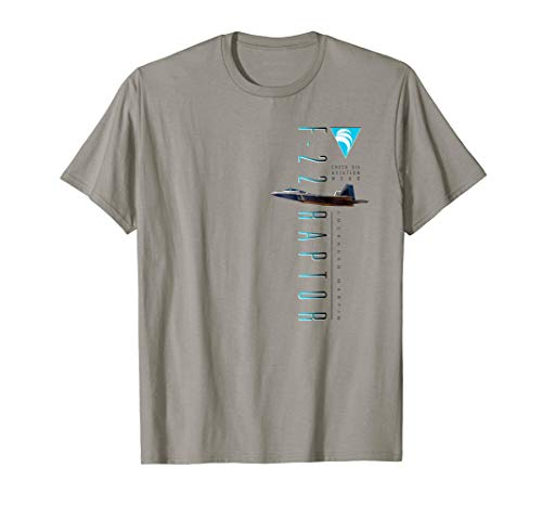 F-22 Raptor Stealth Air Superiority Fighter T-Shirt 2 Sided