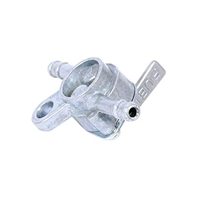 Fuel Valve Petcock Shut Off 1/4 Fuel Line Gas Pump Valve Tank Switch Valve 90Cc 110Cc 120Cc 125Cc 140Cc Pit Dirt Quad Motorcycle Bike Dirt Bike Go Kart Atv: Automotive