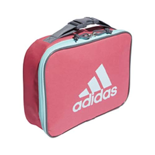 adidas Unisex Foundation Insulated Lunch Bag, Real Pink/Clear Aqua/Sundown Print, ONE SIZE (Lunch Bag Big Phil)