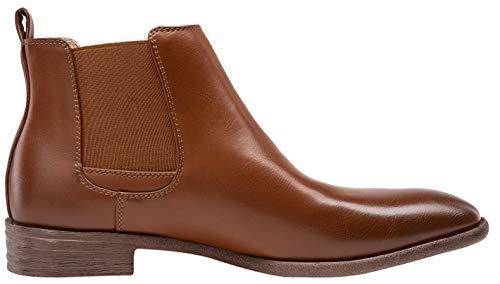 Pictures of JOUSEN Men's Chelsea Boots Elastic Formal Casual Chelsea Boots 10 M US 5