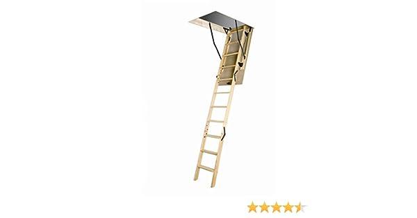 FAKRO lwn Madera Basic No aislado Escalera de ático Lbs: Amazon.es: Bricolaje y herramientas