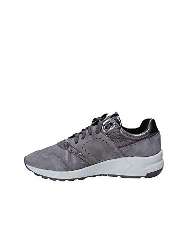 Phyteam Grigio D724da Geox Bianco Sneaker YFqn0S