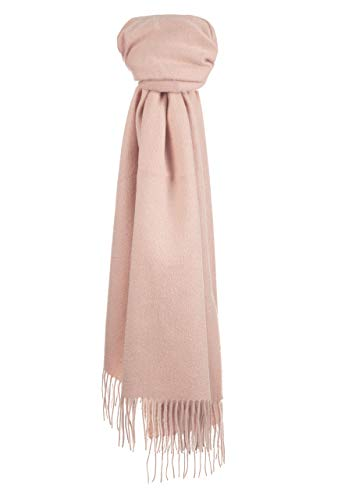 (The Tartan Blanket Co. Merino & Cashmere Blanket Scarf - Rose Pink)