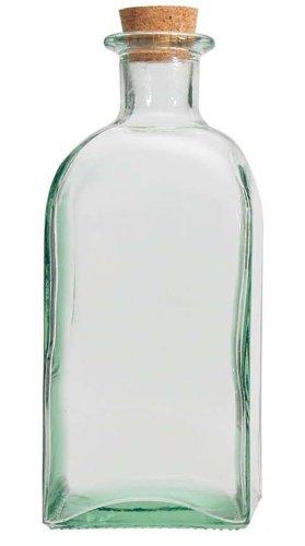 Vidrios San Miguel - Botella para Aceite Cuadrada - Medidas: 1L