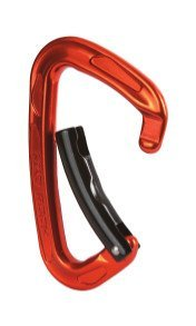 Mad Rock Super Tech Bent Carabiner (Orange), Outdoor Stuffs