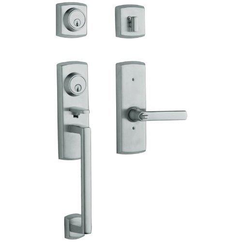 (Baldwin 85385.260.2RH Soho Two Point Lock Right Hand Handleset with Soho Lever, Chrome )