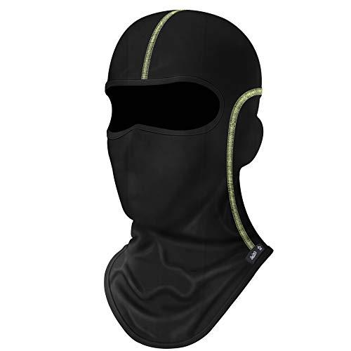Nomex Face - Balaclava Full Face Mask Windproof Sun UV Protection Helmet Liner for Women Men Black