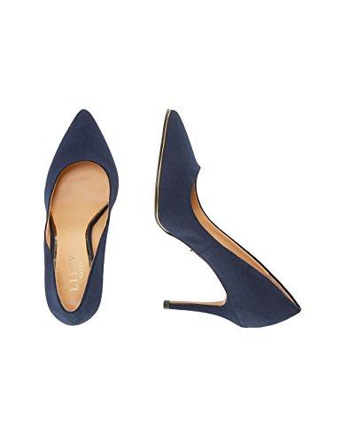Contrastantes Bleu Femme Finitions À Escarpins Lipsy qAaIwXq