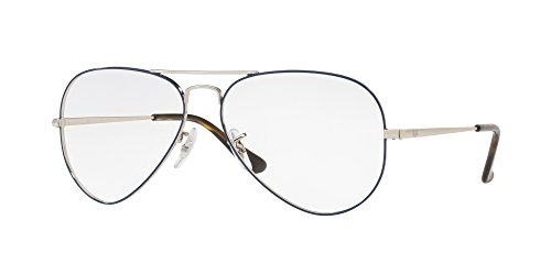 Ray-Ban Aviator RX6489 - 2970 Eyeglasses - Ray 14 55 Ban