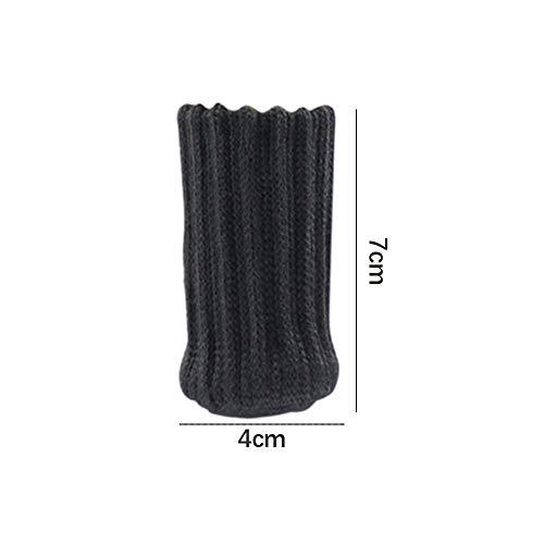 Conblomi 24 PCS Chair Leg Socks Non Slip Anti-Noise High Elastic Chair Leg Floor Protectors Caps Set, Knitted Furniture Sock fit Diameter from 1\