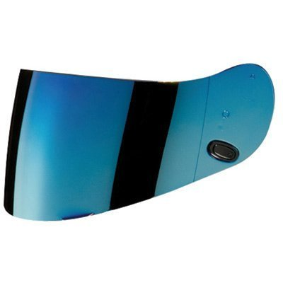 HJC AC-12/CL-SP/CL-15/CL-16/FS-10/IS-16/CS-R1/CS-R2 Motorcycle Helmet Replacement Faceshield Mirror-Coated Blue - Hjc Replacement