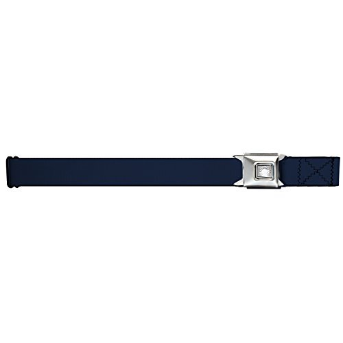 Buckle-Down Navy Blue Starburst Seatbelt Belt