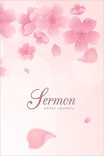 Sermon Notes Journal: Prayer Bible Study And Motivations