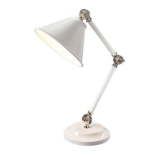 Elstead Lighting EL/PV ELEMENTWPN Provence Element Mini Table Lamp, White ()