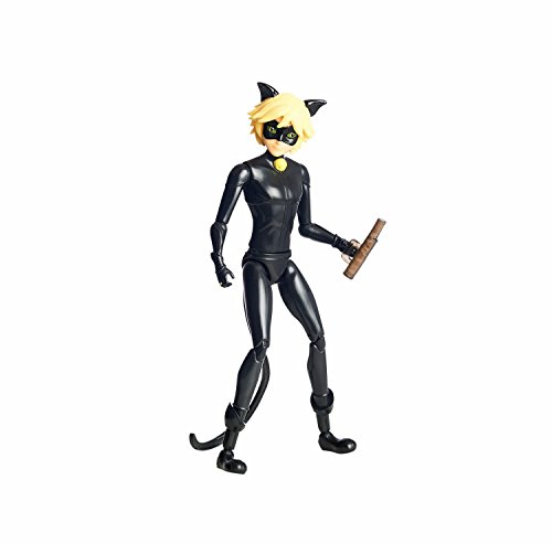 Miraculous 5.5-Inch Cat Noir Action Doll Free Shipping