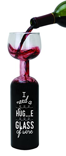 BigMouth Inc Original Wine Bottle Glass -