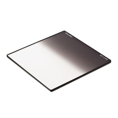Schneider Optics 4''x 4'' Neutral Density ND 0.6, Soft Edge Graduated Color Professional Glass Filter. by Schneider