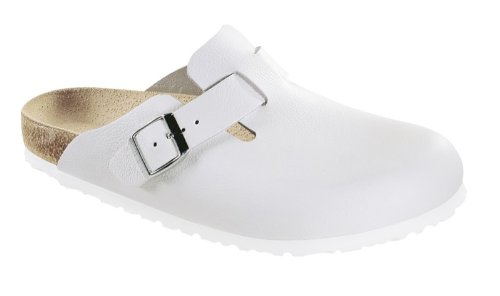 eather Clogs,White Leather,46 R EU ()