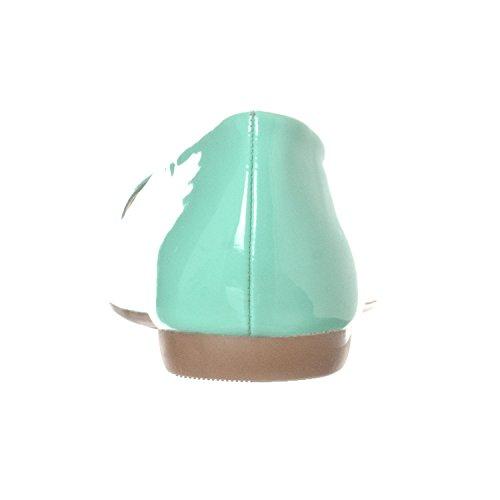 Ballet Ella Slip Basic Closed Mint On Women's Flat Shoe Toe Pointed Patent Riverberry xqT5gYnU8w