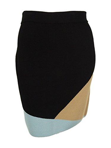 Alfani women colorblocked pull on pencil skirt plus size 2x geom c/b prima