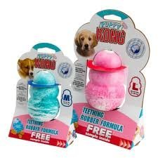 Kong Classic Puppy Size:Large Pack of 2 (Monster Mouth)