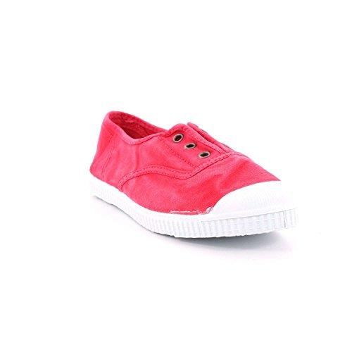 70777 Rosa scarpe unisex tessuto beige 21 CIENTA elastico 27 fwUB4