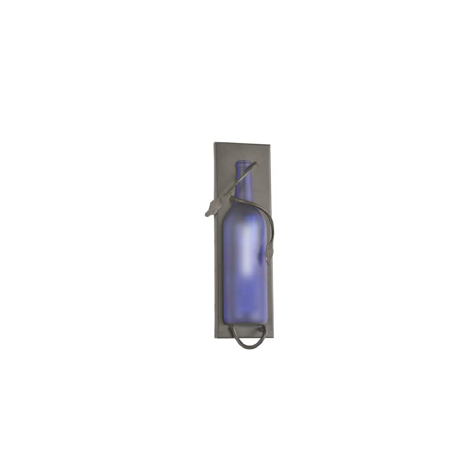 Meyda Tiffany 99372 Antique Bronze Wine Bottle Transitional Single