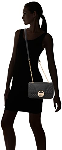 Womens Quilt Bag Black New Shoulder Chain Black Look New wTqFxnRF