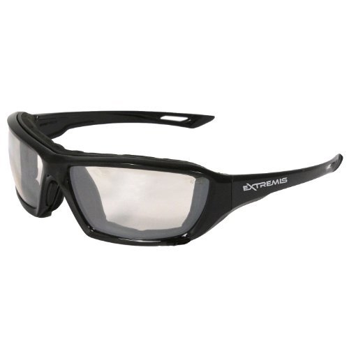 Radians XT1-91 Extremis Full Black Frame Safety Glasses with Indoor/Outdoor Anti-Fog Lens by Radians