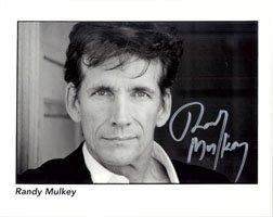 Signed Mulkey, Randy 8x10 B&W autographed