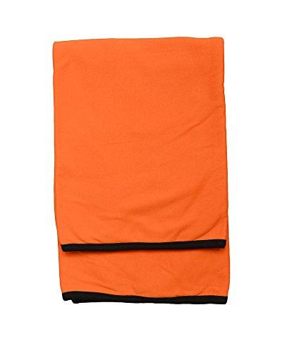 MONAG Infant Unisex Ringer Blanket Orangee/Black OS