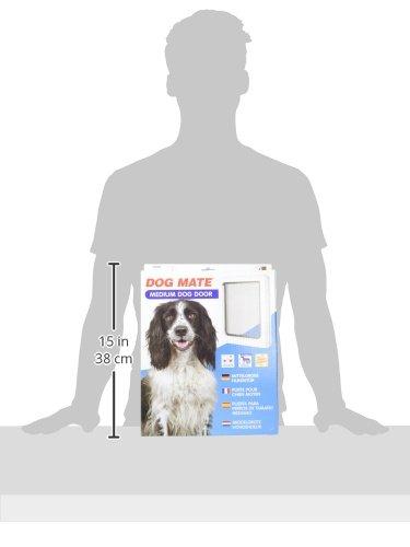 Dog Mate Medium Dog Door White