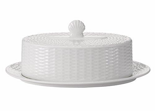 Wedgwood Nantucket Basket Covered Butter