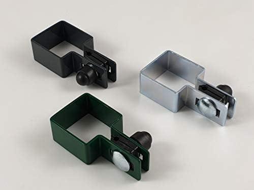 Juego de 2 abrazaderas cuadradas (40 x 40 mm, 50 x 50 mm, 60 x 60 mm, 80 x 80 mm): Amazon.es: Bricolaje y herramientas