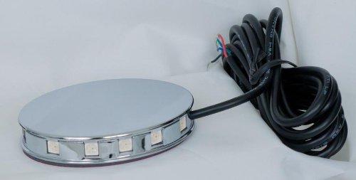 2C Magical Wizard Wheel Light (Chrome) (Saddlebag Interior Light)