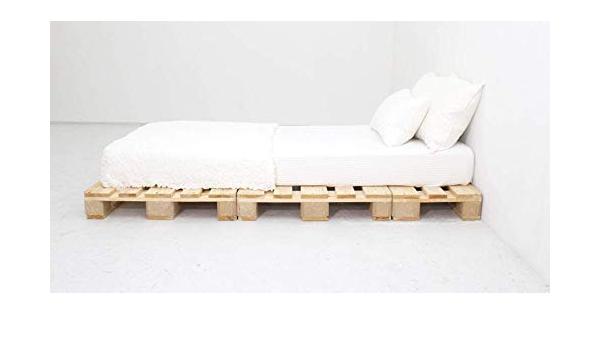 Estructura de cama de palets - Base de cama para colchón de ...