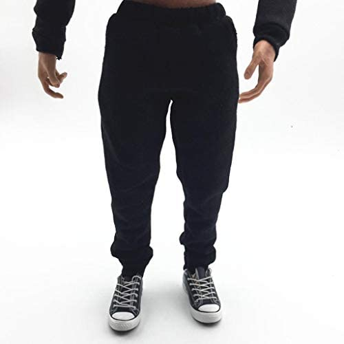 White 1//6 Scale Doll Pants Sweatpants for 12/'/' Female Action Figure Accessories
