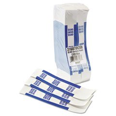 Coin-Tainer 400100 Currency Straps, Blue, 100 in Dollar Bills, 1000 Bands/Pack by 4COU