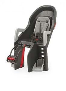 Polisport Guppy Maxi Children's Seat Frame Tube Attachment Dark Grey / Silver by EFX