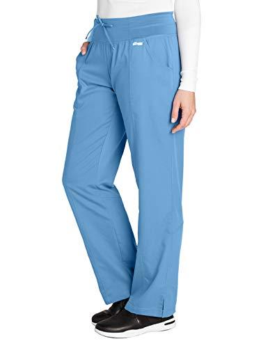 Grey's Anatomy Active 4276 Yoga Pant Ciel Blue 2XL Petite