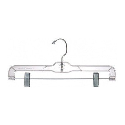 Only Hangers Plastic Pant/Skirt Clips (Set of 100) Color: Clear