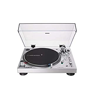 AT-LP120XUSB-SV Direct-Drive Turntable [Silver]