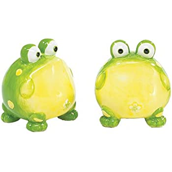 Toby The Toad Frog Salt And Pepper Shakers For Kit