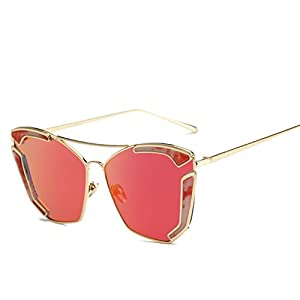 SG10906C4 PC Lens Fashion Metal Frames Sunglasses